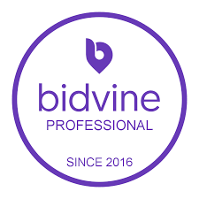 bidvine badge
